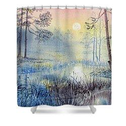 Sunrise To Serenity Shower Curtain