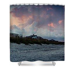 Sunset Emerald Isle Crystal Coast Shower Curtain