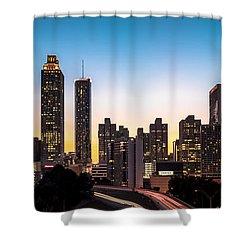 Sunset In Atlanta  Shower Curtain