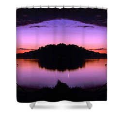 Sunset Kiss Shower Curtain