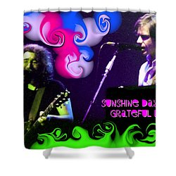 Shower Curtain featuring the photograph Sunshine Daydream - Grateful Dead by Susan Carella