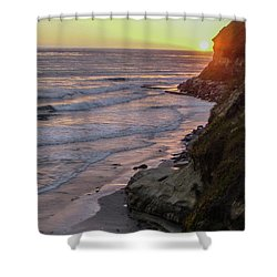 Swamis Sunset Shower Curtain