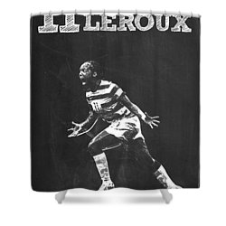 Sydney Leroux Shower Curtain by Semih Yurdabak