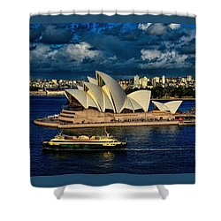 Sydney Opera House Australia Shower Curtain
