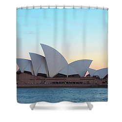 Sydney Opera House At Dusk Shower Curtain