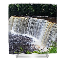 Tahquamenon Upper Falls IIi Shower Curtain