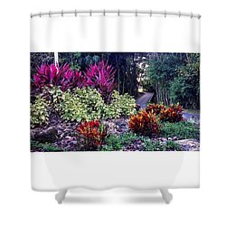 Enjoy The Journey Shower Curtain