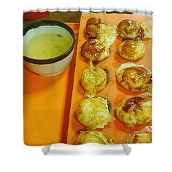 Takoyaki  Shower Curtain