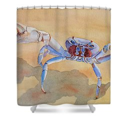 Talk To The Claw Shower Curtain