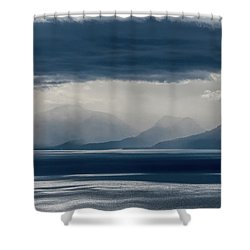 Tallac Stormclouds Shower Curtain
