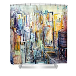 Tanks For The Memories Shower Curtain