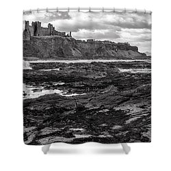 Tantallon Castle Shower Curtain