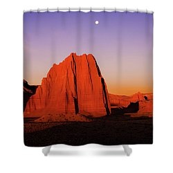 Shower Curtain featuring the photograph Temple Of The Sun by Norman Hall