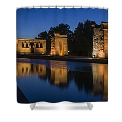 Templo De Debod Shower Curtain
