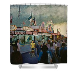 Temptation In Paradise Shower Curtain by Don Perino