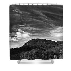 Tennessee River Gorge Shower Curtain