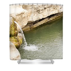 Shower Curtain featuring the photograph Texas - Mckinney Falls State Park  by Ray Shrewsberry