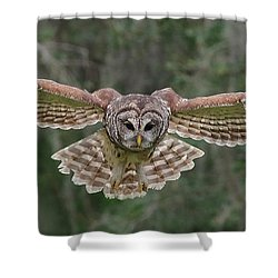 The Approach. Shower Curtain
