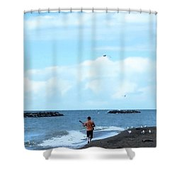 The Audience Shower Curtain