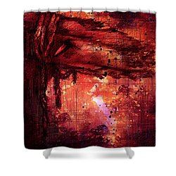The Beloved Shower Curtain by Rachel Christine Nowicki