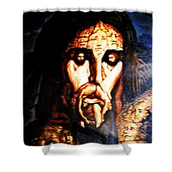 The Blood Of Christ Shower Curtain