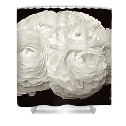 The Brides Bouquet Shower Curtain