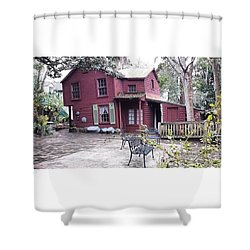 The Carpenter's House Shower Curtain