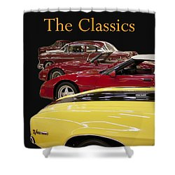 Shower Curtain featuring the photograph The Classics by B Wayne Mullins