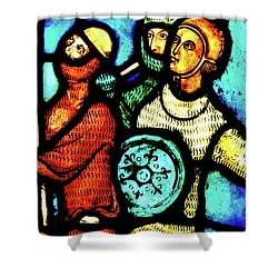 The Crusaders Shower Curtain