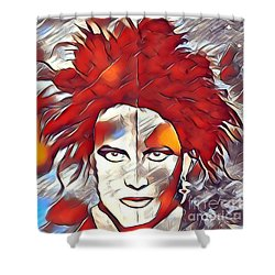 The Cure Shower Curtain