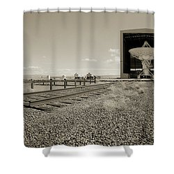 The Dish Room Shower Curtain by Jan W Faul