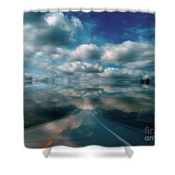 The Dream Shower Curtain by Elfriede Fulda