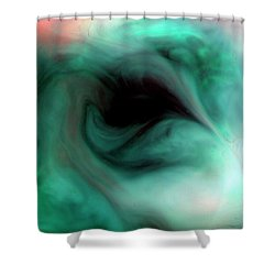 The Empty Eye Shower Curtain
