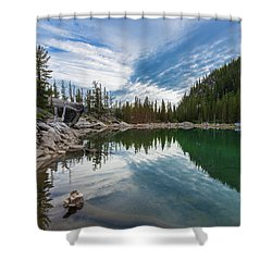 The Enchantments Shower Curtain
