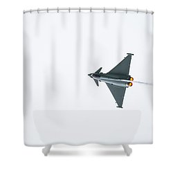 The Eurofighter Typhoon Shower Curtain