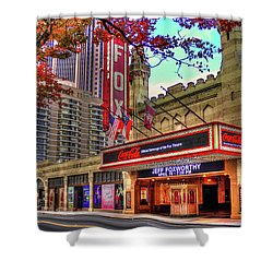 The Fabulous Fox Theatre Atlanta Georgia Art Shower Curtain by Reid Callaway