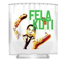 The First Black President Shower Curtain