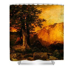 The Grand Canyon Shower Curtain by Thomas Moran