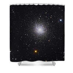 The Great Globular Cluster In Hercules Shower Curtain by Roth Ritter