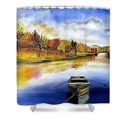 The Hiding Place Shower Curtain