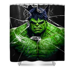 The Incredible Hulk Collection Shower Curtain