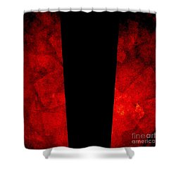 The Lamp Shower Curtain by CML Brown