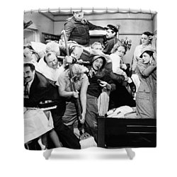 The Marx Brothers, 1935 Shower Curtain by Granger