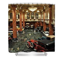 Grand Salon At The Nethercutt Shower Curtain by Kyle Hanson