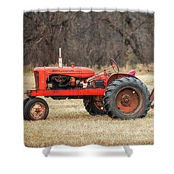 The Ol' Wd Shower Curtain