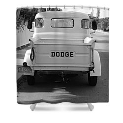 The Old Dodge  Shower Curtain by Rob Hans