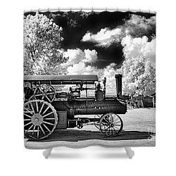Shower Curtain featuring the photograph The Old Way Of Farming by Paul W Faust - Impressions of Light