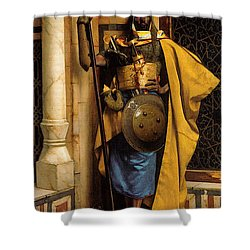 The Palace Guard Shower Curtain