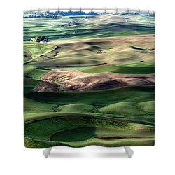The Palouse Shower Curtain