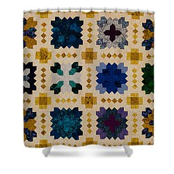 The Patchwork Of The Crosses Shower Curtain
